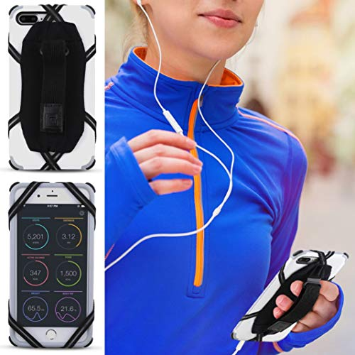 Gear Beast Cell Phone Holder Hand Grip, Universal Phone Grip Finger Strap for iPhone Galaxy Android and Other Smartphones,Secure Adjustable Pocket Friendly for Men Women Kids