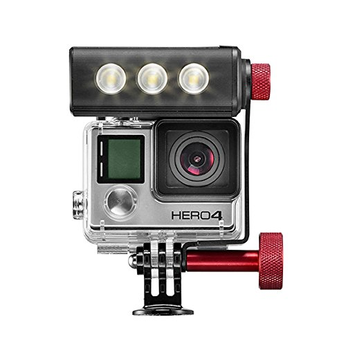 Manfrotto off Road Thrilled luce e staffa per fotocamera GoPro