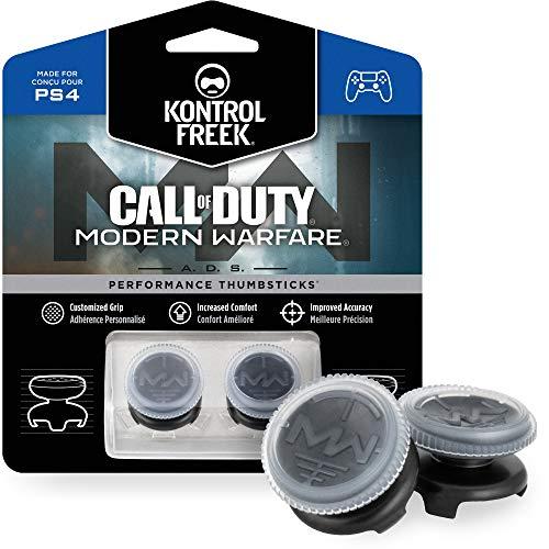 KontrolFreek Call of Duty: Modern Warfare - A.D.S. Performance Thumbsticks for PlayStation 4 (PS4) |...