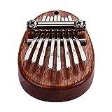 Muslady カリンバ 8キーミニサムピアノ 指打楽器