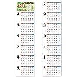 ◎2022/1月バージョンも発売中!!◎最新の祝日変更版!最長7ヶ月分を一目で見渡せるので、長期の予定を立てるのに大変便利! 9月が表と裏の両方に表示されているので、9月になったら「翌月以降の日付けが分からない・・・」なんていう心配もありません。 1ヶ月分、2か月分、3か月分・・・半年分とお好きな月の分だけ、掲示できます。どの月の分だけ表示するかはあなたの自由! 平日は黒、土曜日は青、日・祝日は赤になっていて、分かりやすい表示となっています。 日付欄が大きくメモスペースも広いので、スケジュール等...