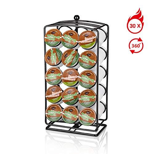 Porta capsule caffè Dolce Gusto,Caffè capsule Dolce Gusto holder-30 capsule, porta capsule girevoli 360°Compatibile con capsule caffè Dolce Gusto