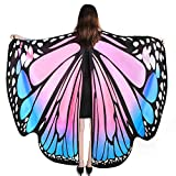 YXwin Womens Halloween Costumes Adult Butterfly Wings Pink Blue Cute Costume for Women