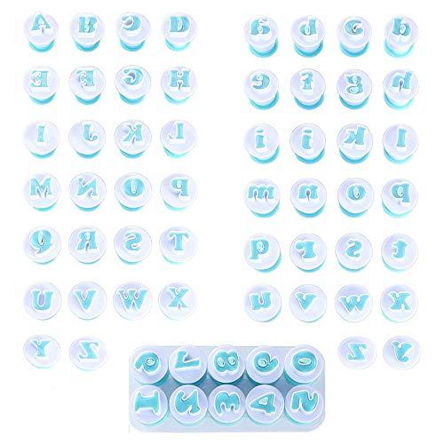 Cortador Letras Fondant, Moldes de Letras y Numeros, Moldes