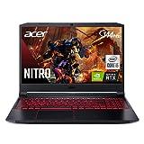 Acer Nitro 5 AN515-55-53E5 Gaming Laptop   Intel Core i5-10300H   NVIDIA GeForce RTX 3050 Laptop GPU   15.6' FHD 144Hz IPS Display   8GB DDR4   256GB NVMe SSD   Intel Wi-Fi 6   Backlit Keyboard