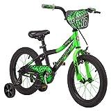 Schwinn Piston 16' Kids' Bike, Green