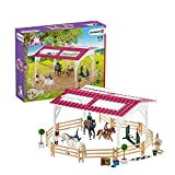 Schleich Horse Club 40-piece Riding School with Riders and Horse Figurines Toy Set for Kids Ages 5-12