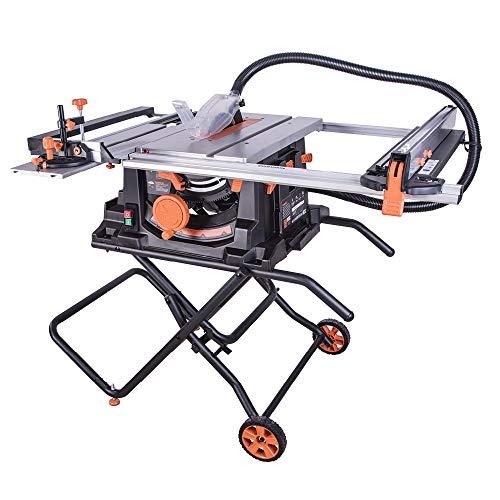 Evolution Power Tools 057-0003 Rage 5-S Mehrzweck-Tischkreissäge, 255 mm (230 V), 1800 W