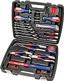 kwb 370733 Maletín de herramientas con puntas de atornillar, 42 piezas, relleno, resistente y de alta calidad, ideal para el hogar o el garaje, certificado GS, Blowmould-Koffer