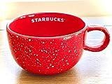 Starbucks 2019 Holiday Season Red Confetti Ceramic Coffee Chocolatte Cup Bowl Mug 16 Fl Oz