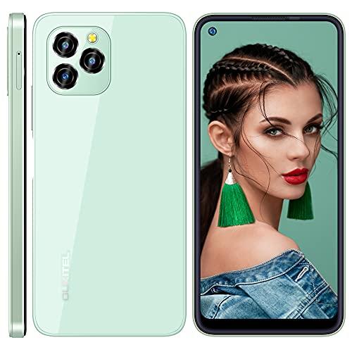 Teléfono Móvil Libres, OUKITEL C21 Pro Smartphone Libre, Android 11 Movil Smartphone, Octa Core Moviles Dual SIM, 4GB RAM+64GB ROM Moviles Baratos, 21MP 8MP Cámara, 4000 mAh...