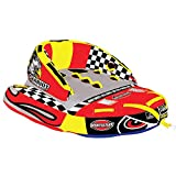 SportsStuff Chariot Warbird 2, Yellow, Dimensions = inflated (78in x 90in) deflated (84in x 96in) (53-1780)
