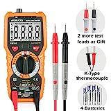 Pinza Multímetro Amperimetrica Digital Janisa MT100 Profesional Clamp Meter Corriente AC,Voltaje...