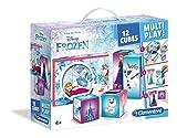 Clementoni- Disney Maletín 12 Cubos Multiplay Frozen (41503.8)