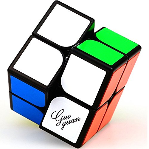 CuberSpeed Moyu Guoguan Xinghen 2x2 Black Magic Cube Guoguan Xinghen 2x2x2 Speed...