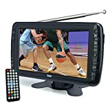 Tyler TTV701 7' Portable Widescreen LCD TV with Detachable Antennas, USB/SD Card Slot, Built in...