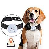 Kuoser Pet Tracker Pas de frais mensuels, collier de suivi GPS léger et imperméable pour chien et chat,...