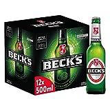 Beck's Birra, Bottiglia - Pacco da 12 x 500 ml