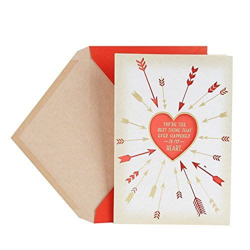 Hallmark Valentine's Day Card for Significant Other (Arrows Around Heart)