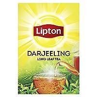 Lipton Darjeeling tea is 100% pure and authentic Darjeeling Tea Lipton is the World's No. 1 Tea Brand Available in 100g, 250g and 500g packs Pure long leaf black tea Sourced from Certified Darjeeling Tea Gardens Best enjoyed when brewed. Maximum shel...