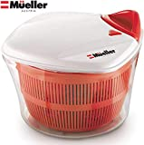 MUELLER Large 5L Salad Spinner...