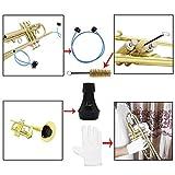Seasons Shop Kit de Nettoyage pour Trompette Comprend Support, Brosse de...