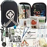 SCYDAO Kit de Survie d'urgence 241en 1 Multi-Outils De...