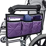 Wheelchair Side Bag, Suitable for Storage Bags for Walking aid Accessories, Electric wheelchairs, and Scooters