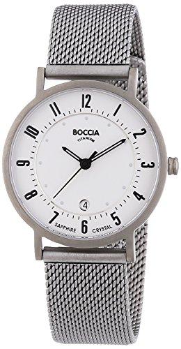 Boccia Damen-Armbanduhr XS Analog Quarz Titan 3296-02