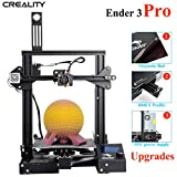 ENOMAKER Creality Ender 3 Pro 3D Printer Upgrade with Magnetic Bed Sheet, Y Profile, Brand Power Supply, More Stable 220x220x250mm