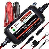 MOTOPOWER MP00206A 12V 1.5Amp Automatisches Ladegerät/Wartung für Autos, Motorräder,...
