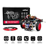 OSOYOO Model 3 Robot Car DIY Starter Kit for Arduino UNO | Remote Control App Educational Motorized Robotics for Building Programming Learning How to Code | IOT Mechanical Coding for Kids Teens Adults