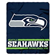 Made by Northwest 100% polyester Measures 50x60 sport type: Football
