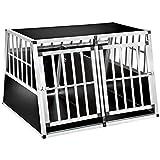 tectake 800350 Cage Box Caisse en Forme de Trapèze Aluminium -...