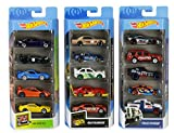 Hot Wheels American 5-Pack 1:64 Scale Die-Cast Cars Collectors of All Ages Premium Graphics...