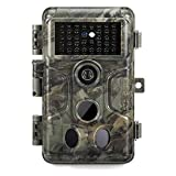 GardePro A3 Trail Camera 20MP 1080P, H.264 HD Video, Clear 100ft No Glow Infrared Night Vision, 0.1s Trigger Speed, 82ft Motion Detection, Waterproof Cam for Wildlife Deer Game Trail