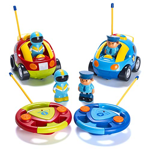 Prextex Pack of 2 Cartoon Cars