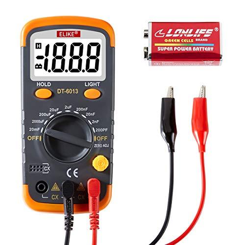 ELIKE Digital Capacitor Tester,0.1pF to 20mF High...