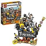 Ce modèle en briques LEGO comprend deux des plus célèbres personnages d'Overwatch : l'énorme Chopper armé de son traquelard et la figurine de Chacal avec son lance-grenades et sa jambe de bois emblématique. Les enfants et les fans vont adorer constru...