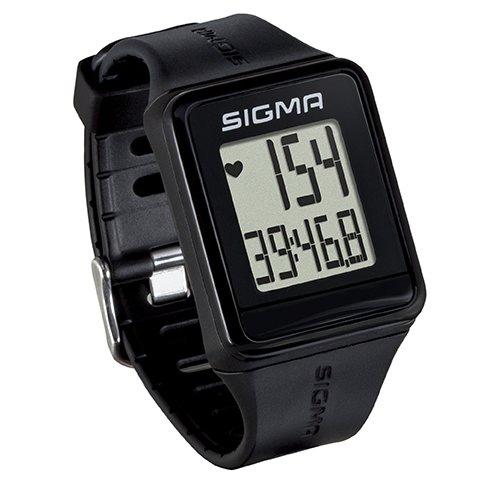 Sigma Sport Pulsuhr iD.GO black, Herzfrequenz-Messung, Fitness-Laufuhr, Schwarz