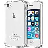 JETech Coque Compatible avec iPhone 4s et iPhone 4, Shock-Absorption et...