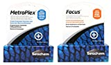 Seachem Aquarium Water Treatment Set - MetroPlex & Focus (5g Each) by Seachem