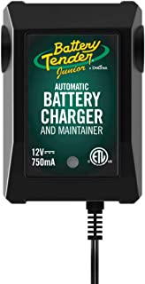 Battery Tender Junior Charger and Maintainer: Automatic 12V Powersports Battery Charger..