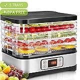 Hopekings Déshydrateur Alimentaire 250W avec Thermostat Réglable,...