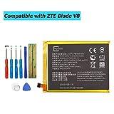 E-YIIVIIL Li3927T44P8h786035 Batterie de rechange pour ZTE Blade V8 BV0800...