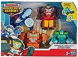 Transformers Rescue Bots - Coffret de 4 Robots Secouristes 12cm - Jouet...