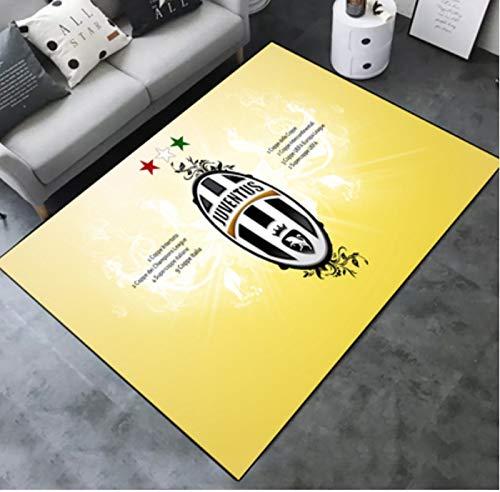 zzqiao Tappeto Rettangolare Tappetino personalit Creativo Calcio Juventus Team Camera dei Bambini...