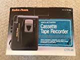 Radio Shack Voice - Activated Cassette Tape Recorder CTR-96
