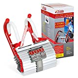 Kidde 468193 KL-2S, 2 Story Fire Escape Ladder with Anti-Slip Rungs, 13-Foot , Red