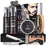 Kit Barba Hombre Cuidado 12 En 1 Con Maquina Afeitar Barba Aceite Barba Cepillo Barba Aceite Para...
